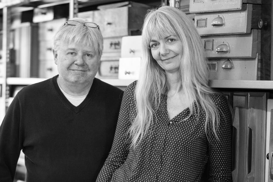Martin Kägi und Christine Naegli von ARCHITEXT.