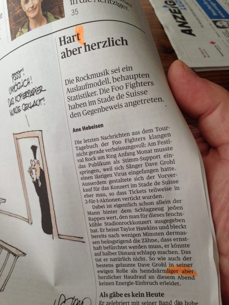 Blog-Thema Tages-Anzeiger